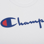 Мужская футболка Champion Reverse Weave Triple Color White/Blue/Red фото- 2