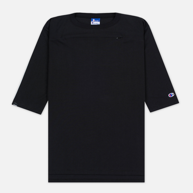 Мужская футболка Champion Reverse Weave x Beams Horizontal Zip Black