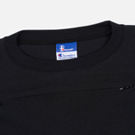 Мужская футболка Champion Reverse Weave x Beams Horizontal Zip Black фото- 2