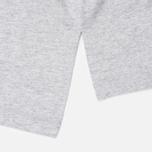 Мужская футболка Champion Reverse Weave x Beams Horizontal Zip Grey Marl фото- 4