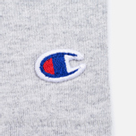 Мужская футболка Champion Reverse Weave x Beams Horizontal Zip Grey Marl фото- 6