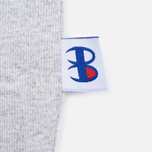 Мужская футболка Champion Reverse Weave x Beams Horizontal Zip Grey Marl фото- 8