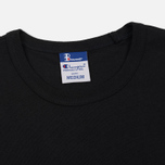 Мужская футболка Champion Reverse Weave x Beams Japanese Print Black фото- 1
