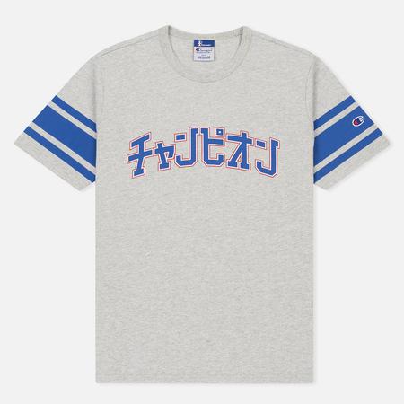 Мужская футболка Champion Reverse Weave x Beams Japanese Print Heather Grey