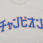Мужская футболка Champion Reverse Weave x Beams Japanese Print Heather Grey фото- 2