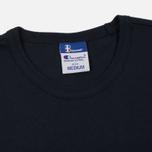 Мужская футболка Champion Reverse Weave x Beams Japanese Print Navy фото- 1