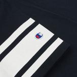 Мужская футболка Champion Reverse Weave x Beams Japanese Print Navy фото- 3