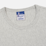 Мужская футболка Champion Reverse Weave x Beams Logo Heather Grey фото- 1