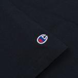 Мужская футболка Champion Reverse Weave x Beams Logo Navy фото- 3