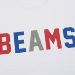 Мужская футболка Champion Reverse Weave x Beams Logo White фото- 2