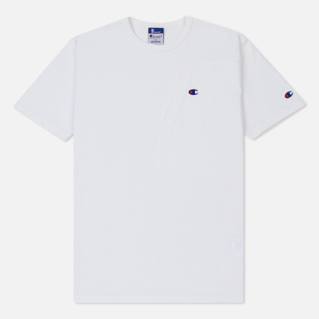 Мужская футболка Champion Reverse Weave x Beams Pocket Detail White