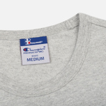 Мужская футболка Champion Reverse Weave x Beams Pocket Heather Grey фото- 1