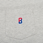 Мужская футболка Champion Reverse Weave x Beams Pocket Heather Grey фото- 2