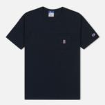 Мужская футболка Champion Reverse Weave x Beams Pocket Navy фото- 0