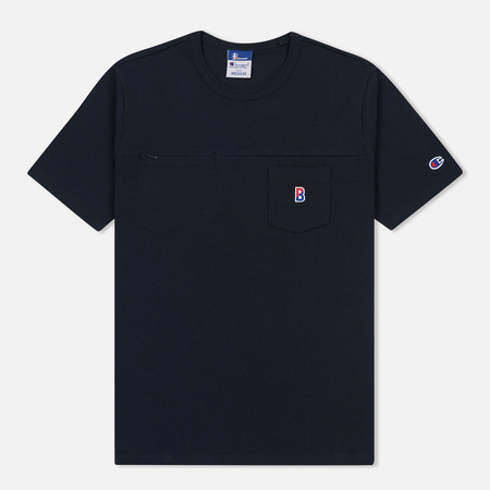 Мужская футболка Champion Reverse Weave x Beams Pocket Navy