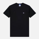 Мужская футболка Champion Reverse Weave x Beams Vertical Zip Black фото- 0