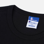 Мужская футболка Champion Reverse Weave x Beams Vertical Zip Black фото- 1