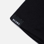Мужская футболка Champion Reverse Weave x Beams Vertical Zip Black фото- 5