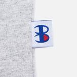 Мужская футболка Champion Reverse Weave x Beams Vertical Zip Grey Marl фото- 6