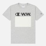 Мужская футболка Champion Reverse Weave x Wood Wood Alec Grey Melange фото- 0