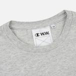 Мужская футболка Champion Reverse Weave x Wood Wood Alec Grey Melange фото- 1