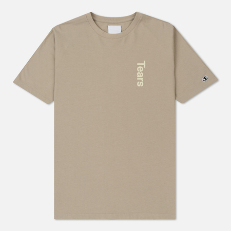 Мужская футболка Champion Reverse Weave x Wood Wood Tears Taupe