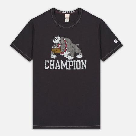 Мужская футболка Champion x Todd Snyder Bulldog Dark Grey