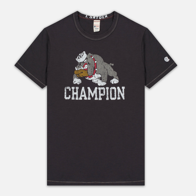 Мужская футболка Champion x Todd Snyder Bulldog Dark Grey