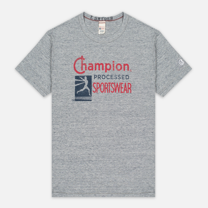 Мужская футболка Champion x Todd Snyder Champion Processed Sportswear Antique Grey Mix