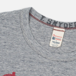 Мужская футболка Champion x Todd Snyder Champion Processed Sportswear Antique Grey Mix фото- 1