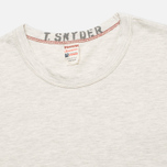 Мужская футболка Champion x Todd Snyder Crewneck Oatmeal Heather фото- 1
