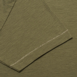 Champion x Todd Snyder Crewneck Men's T-shirt Olive Drab photo- 2