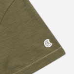 Champion x Todd Snyder Crewneck Men's T-shirt Olive Drab photo- 3