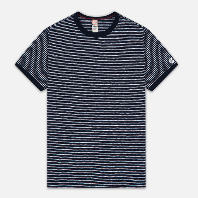 Мужская футболка Champion x Todd Snyder Striped Navy/White