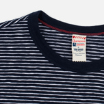 Мужская футболка Champion x Todd Snyder Striped Navy/White фото- 1