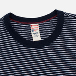 Мужская футболка Champion x Todd Snyder Striped Navy/White фото- 2