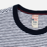 Мужская футболка Champion x Todd Snyder Striped White/Navy фото- 1