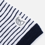 Мужская футболка Champion x Todd Snyder Striped White/Navy фото- 3