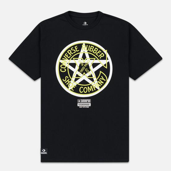 Мужская футболка Converse x Neighborhood Black
