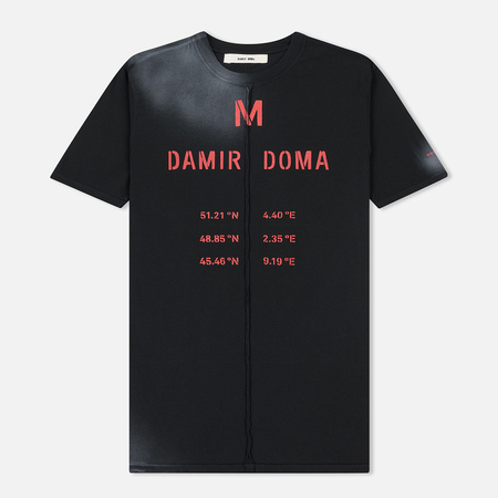 Мужская футболка Damir Doma Tegan DD Black/White