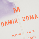 Мужская футболка Damir Doma Tegan DD White/Purple Powder фото- 1