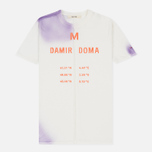 Мужская футболка Damir Doma Tegan DD White/Purple Powder фото- 0