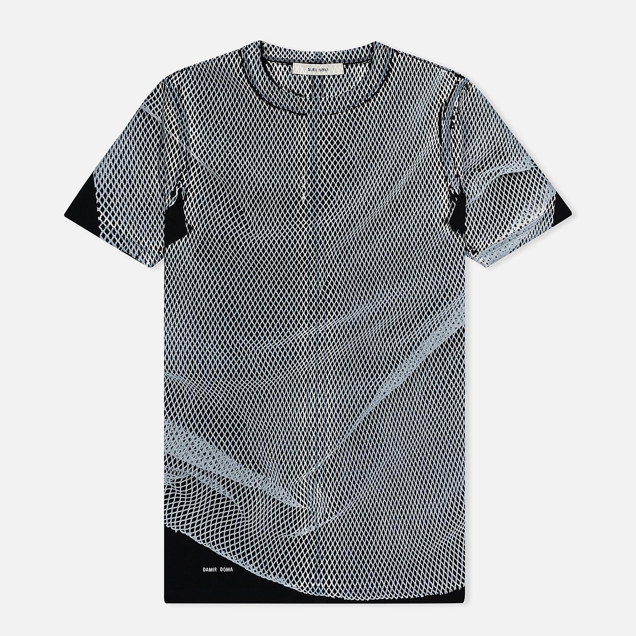 Мужская футболка Damir Doma The Odor N Black