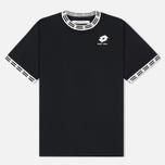 Мужская футболка Damir Doma x Lotto Tobsy L Black фото- 0