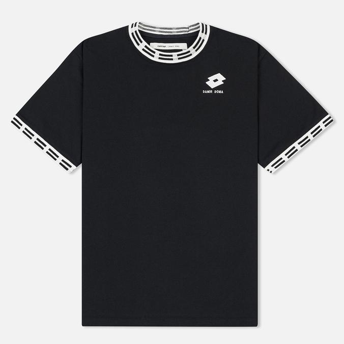 Мужская футболка Damir Doma x Lotto Tobsy L Black