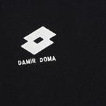 Мужская футболка Damir Doma x Lotto Tobsy L Black фото- 2