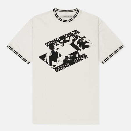 Мужская футболка Damir Doma x Lotto Tobsy LL Chalk White