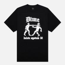 Мужская футболка Dime Delete Black фото- 0