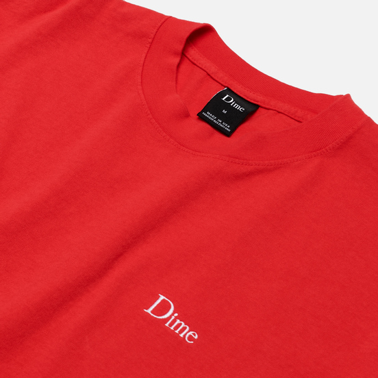 Мужская футболка Dime Dime Classic Embroidered Tomato