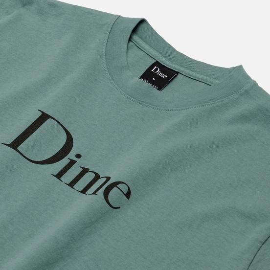 Мужская футболка Dime Dime Classic Logo Atlantic Green